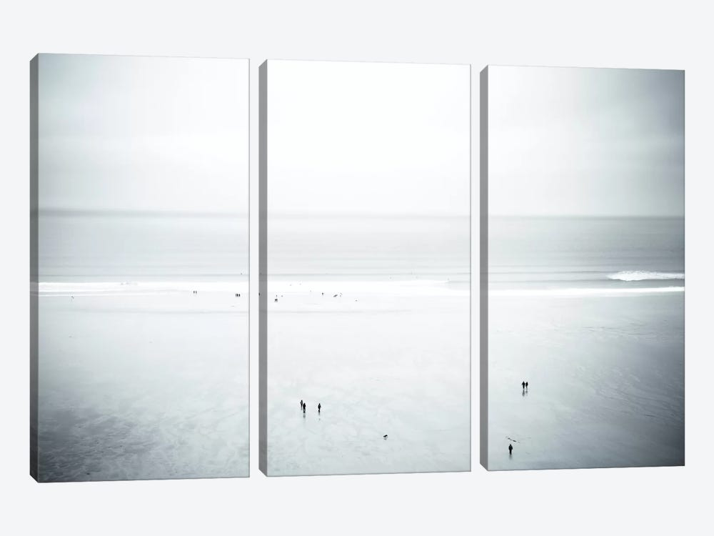 Watergate Bay, Cornwall, England, United Kingdom by Dorit Fuhg 3-piece Canvas Print