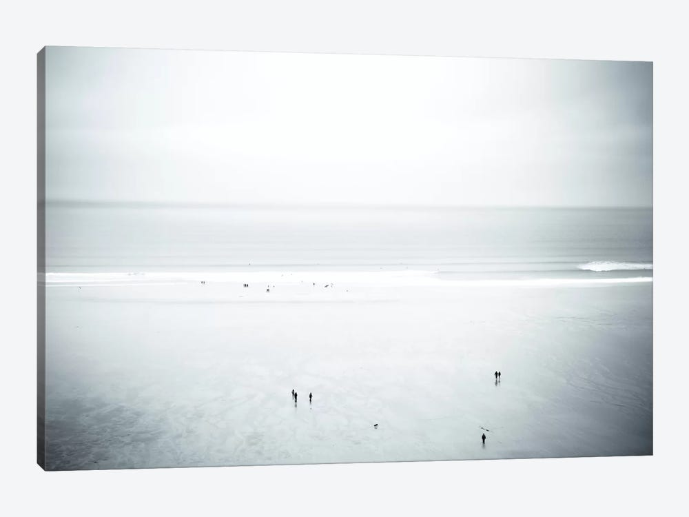 Watergate Bay, Cornwall, England, United Kingdom by Dorit Fuhg 1-piece Canvas Print