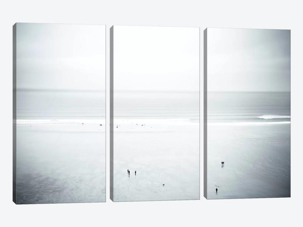 Watergate Bay, Cornwall, England, United Kingdom by Dorit Fuhg 3-piece Canvas Print