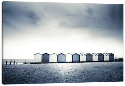 Beach Huts Canvas Art Print