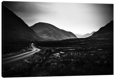 Into Glen Etive Canvas Art Print