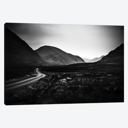 Into Glen Etive Canvas Print #DFU3} by Dorit Fuhg Canvas Art