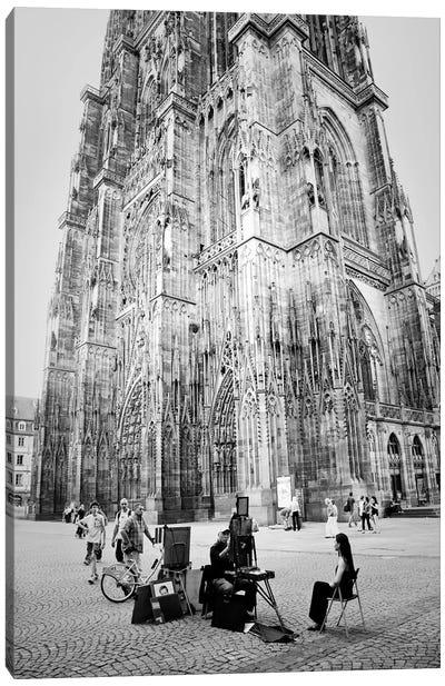 Cathedrale Notre Dame de Strasbourg Canvas Art Print