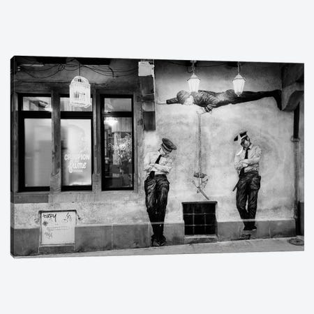 Police, Police Canvas Print #DFU61} by Dorit Fuhg Canvas Art