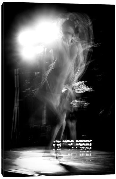 Tango Ballet Dancer Canvas Art Print