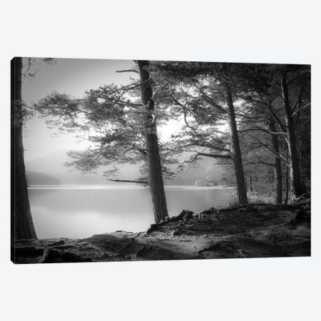 Loch an Eilein Canvas Print #DFU69} by Dorit Fuhg Canvas Art
