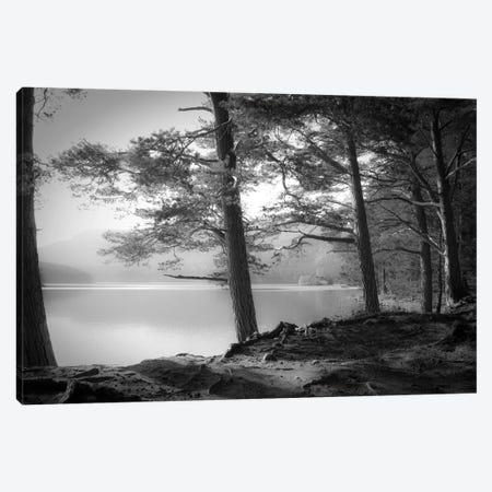 Loch an Eilein 3-Piece Canvas #DFU69} by Dorit Fuhg Canvas Art