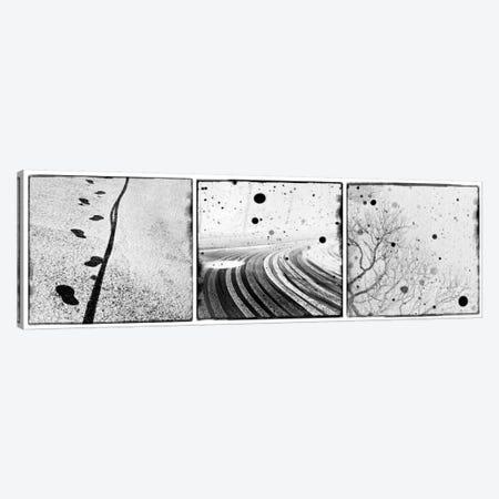 An English Winter II Triptych Canvas Print #DFU7} by Dorit Fuhg Art Print