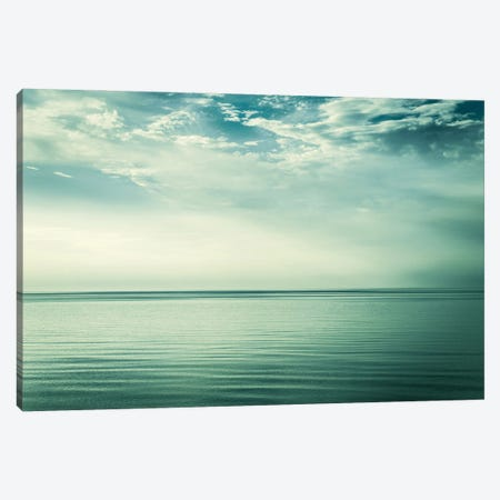 Sea and Sky Canvas Print #DFU83} by Dorit Fuhg Canvas Wall Art
