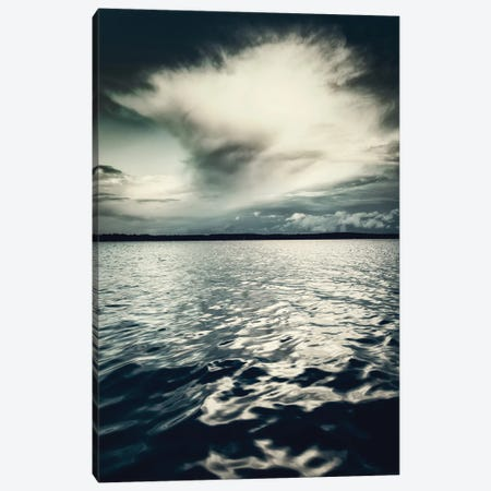 Ocean and Cloud Canvas Print #DFU84} by Dorit Fuhg Art Print