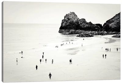 Cornwall Beach Life Canvas Print #DFU9
