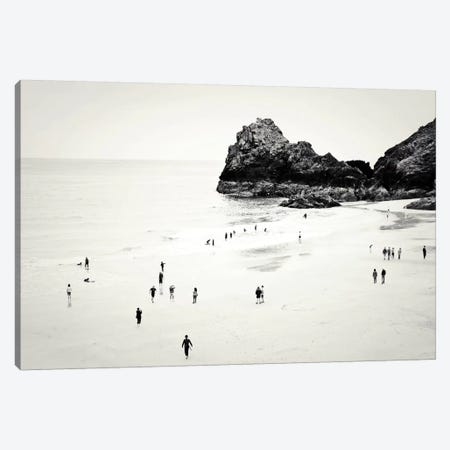 Cornwall Beach Life Canvas Print #DFU9} by Dorit Fuhg Canvas Art