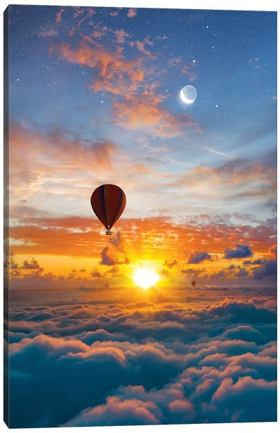 Cloudland Canvas Art Print