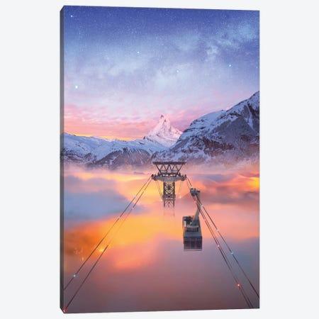 Sky Adventure Canvas Print #DGH39} by Diego Hernandez Art Print