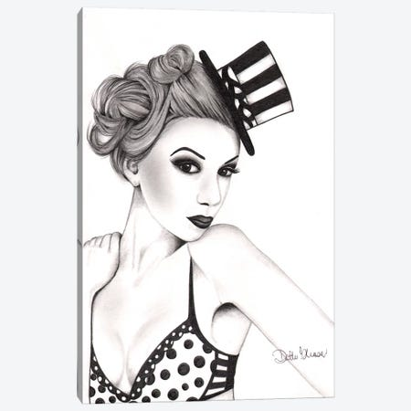 Kat Canvas Print #DGL100} by Dottie Gleason Canvas Art