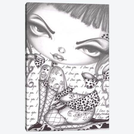 Little Chanel Canvas Print #DGL107} by Dottie Gleason Canvas Print