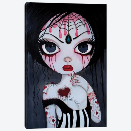 Alice Just A Crazy World Canvas Print #DGL10} by Dottie Gleason Canvas Print