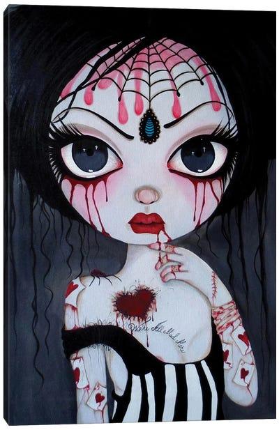 Alice Just A Crazy World Canvas Art Print