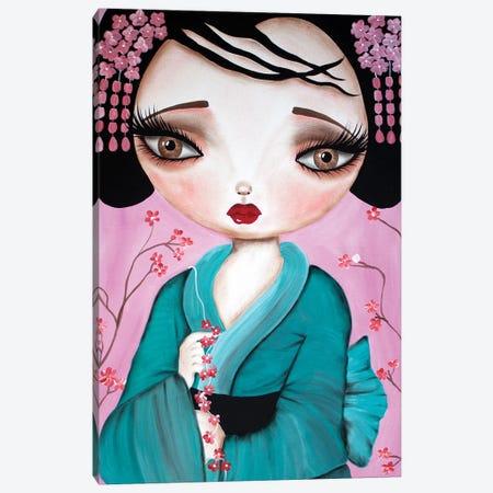 Little Geisha Canvas Print #DGL110} by Dottie Gleason Canvas Art Print