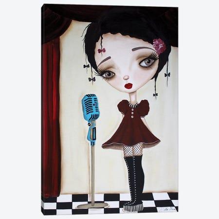 Little Performer Canvas Print #DGL111} by Dottie Gleason Canvas Print