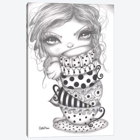 Peek A Boo Alice Canvas Print #DGL126} by Dottie Gleason Canvas Art Print