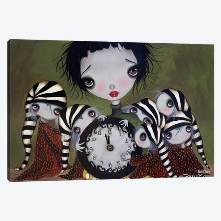 Sleepless Nights Canvas Print #DGL140} by Dottie Gleason Canvas Art