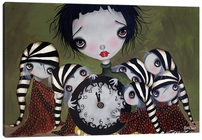 Sleepless Nights Canvas Art Print