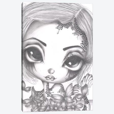 Tabitha The Little Mermaid Canvas Print #DGL145} by Dottie Gleason Art Print