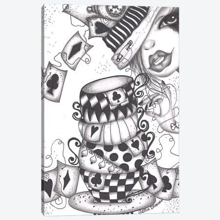 Tea Time Canvas Print #DGL147} by Dottie Gleason Art Print