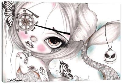 The Mermaid IV Canvas Art Print