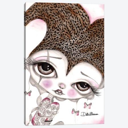 Tiny Alice Canvas Print #DGL153} by Dottie Gleason Canvas Print