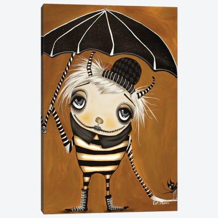 Umbrella Nurdle Canvas Print #DGL155} by Dottie Gleason Canvas Art
