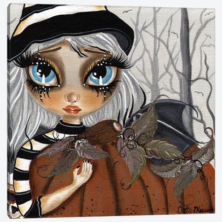 Zelda The Haloween Fairy Canvas Print #DGL162} by Dottie Gleason Canvas Artwork