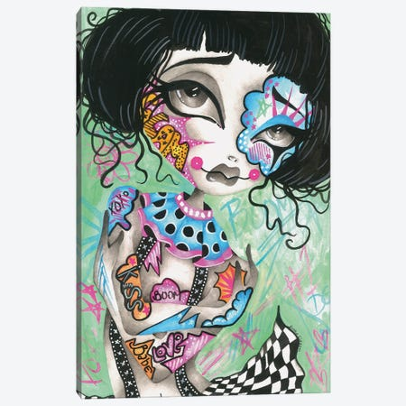 Amie Canvas Print #DGL166} by Dottie Gleason Canvas Print