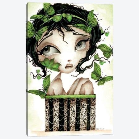 Lilith's Garden Of Butterflies Canvas Print #DGL176} by Dottie Gleason Canvas Wall Art