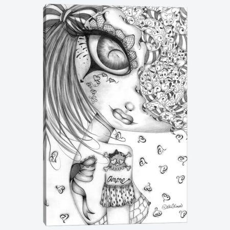 Amore I Canvas Print #DGL19} by Dottie Gleason Canvas Print