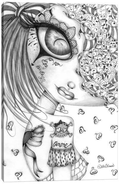 Amore I Canvas Art Print