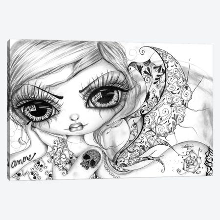 Amore II Canvas Print #DGL20} by Dottie Gleason Canvas Wall Art