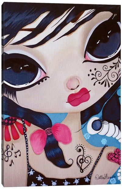 Angelique Canvas Art Print