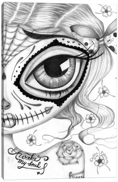 Awake My Soul Canvas Art Print
