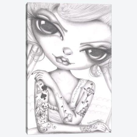 Ballerina Girl Canvas Print #DGL26} by Dottie Gleason Canvas Print