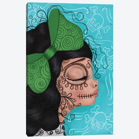Betty Boo Canvas Print #DGL36} by Dottie Gleason Canvas Artwork