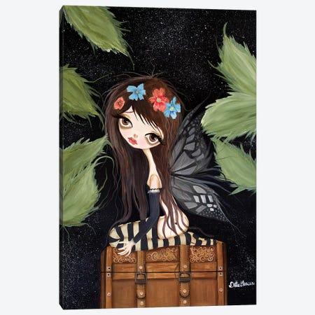 Brucie The Fairy Canvas Print #DGL39} by Dottie Gleason Canvas Art Print