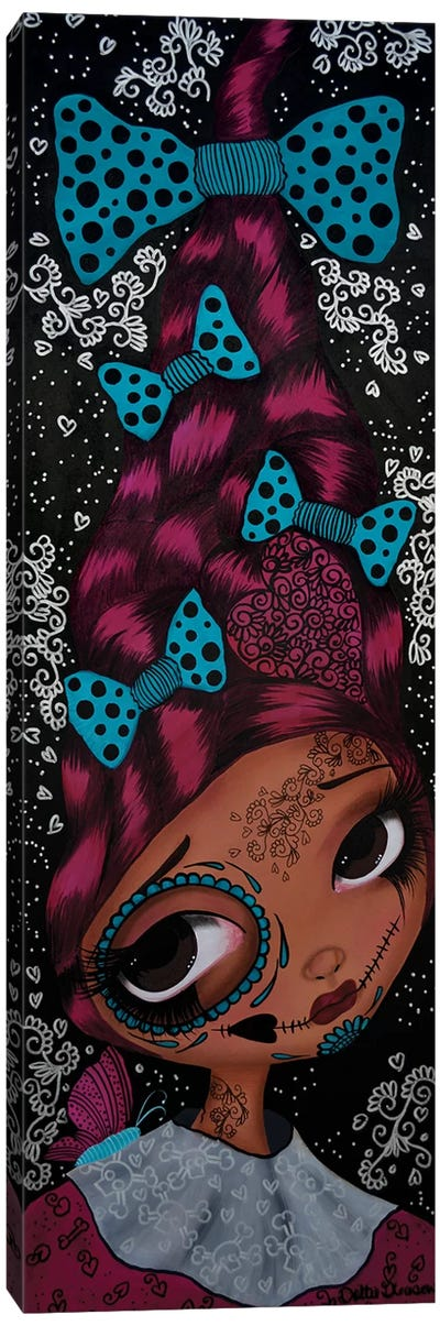 Camille Day Of The Dead Canvas Art Print