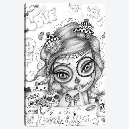 Candy Kisses Canvas Print #DGL42} by Dottie Gleason Canvas Art