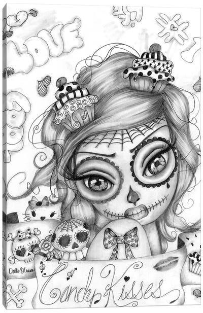 Candy Kisses Canvas Art Print