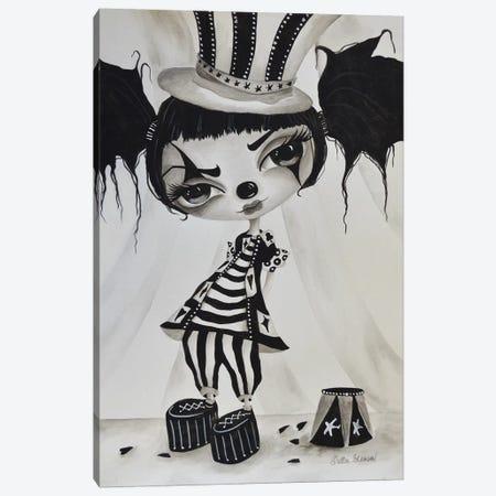 Carni Girl Canvas Print #DGL44} by Dottie Gleason Canvas Art Print