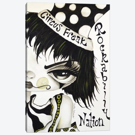 Circus Freak Canvas Print #DGL46} by Dottie Gleason Canvas Print