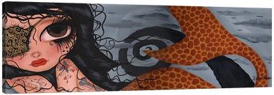 Cleo The Mermaid Canvas Art Print