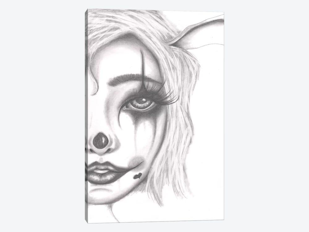 Clown by Dottie Gleason 1-piece Canvas Artwork